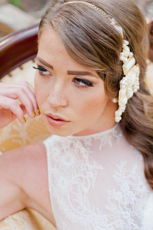 la bridal makeup and hair