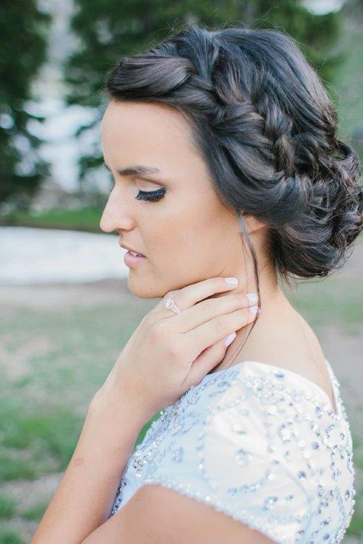 la california bridal hair stylist